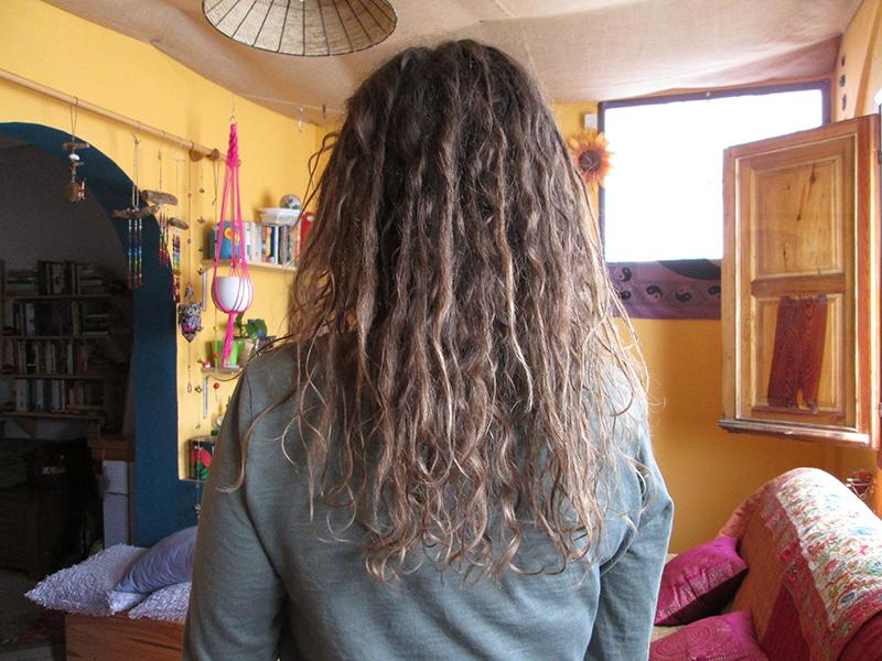 Growing natural dreadlocks 12 weeks on