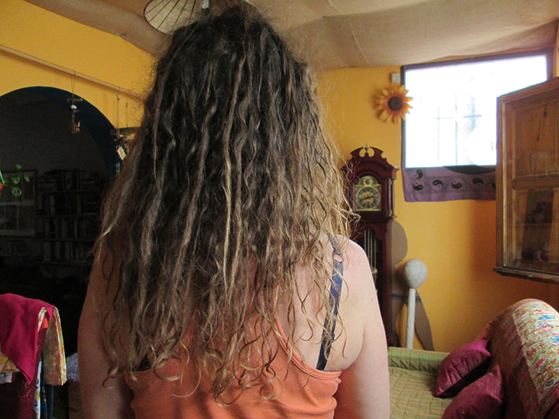 Growing dreadlocks naturally 5 months later