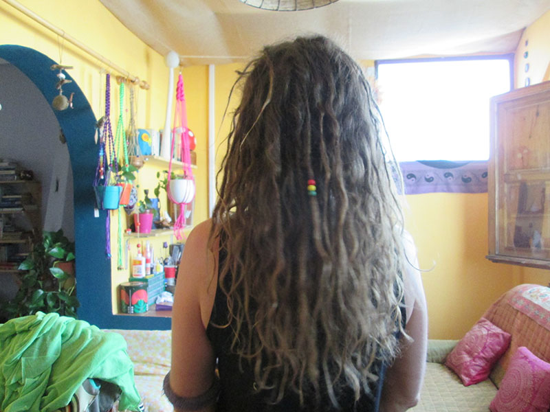 Growing dreadlocks naturally 29 weeks later