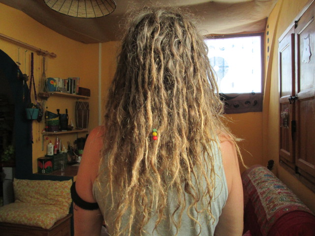 Growing dreadlocks naturally 31 weeks later