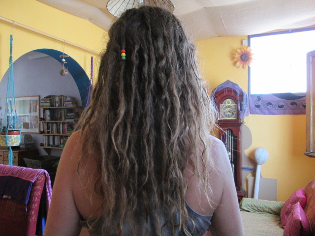 Growing dreadlocks naturally 30 weeks later