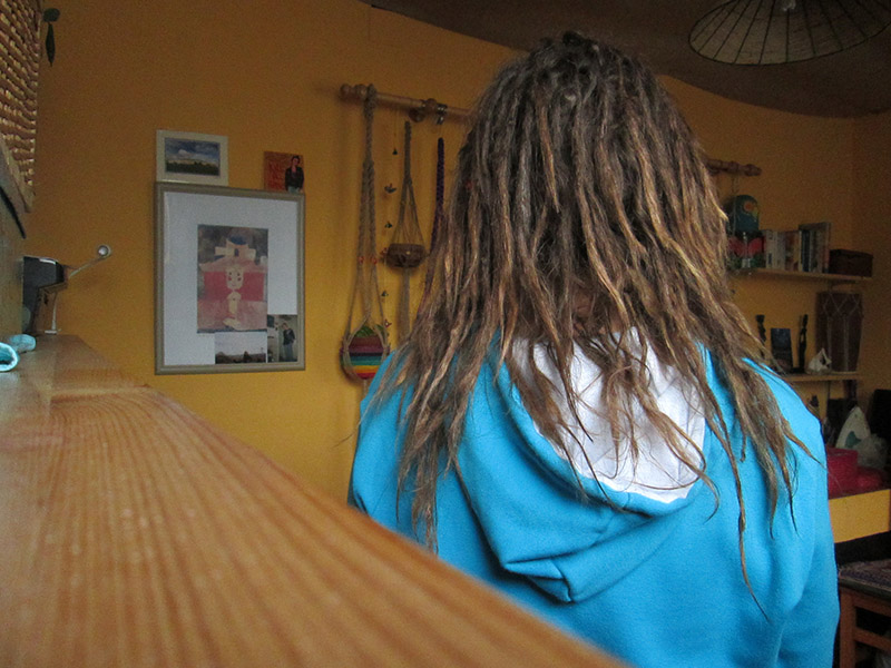 Growing natural dreadlocks Month 11