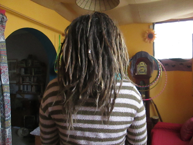 Growing natural dreadlocks 2 Years later