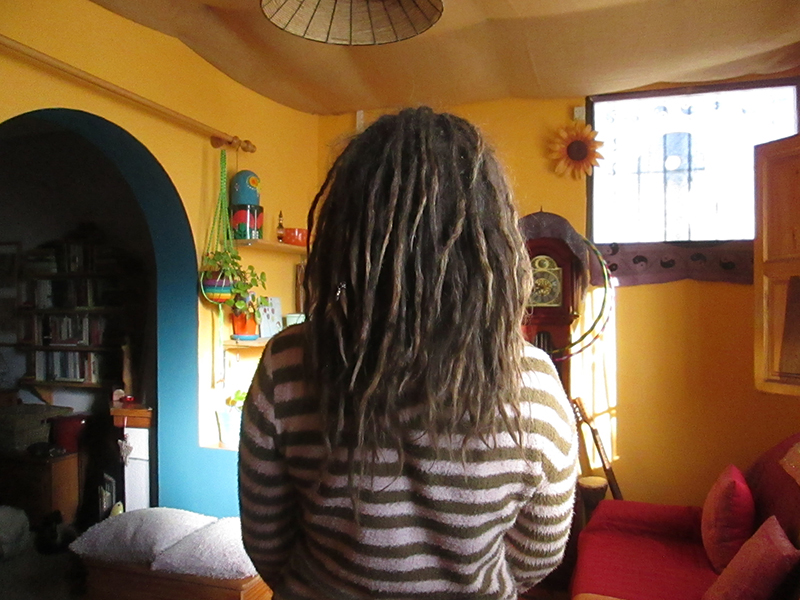 Jan 2018 free form dreadlocks