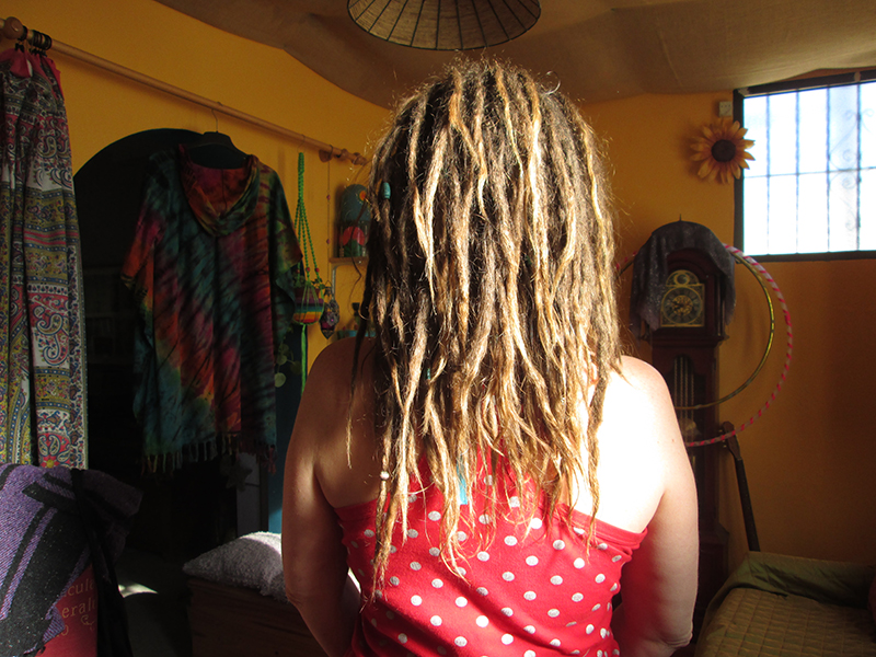 Growing natural dreadlocks 2 years 2 months later